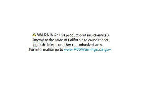 Warning information