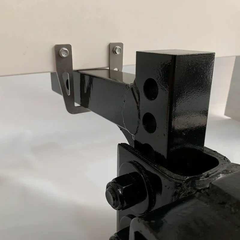 Black clamp for RV